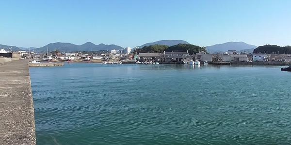 田辺市 湊浦漁港